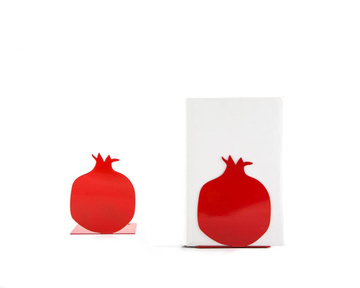 Bookends / Pomegranate / Kitchen bookends / by Atelier Article, Red
