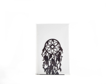 One Decorative bookend // Dream catcher // modern functional decor for dreamers by Atelier Article, Black