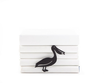 Unusual Metal bookmark // Pelican // Free shipping worldwide