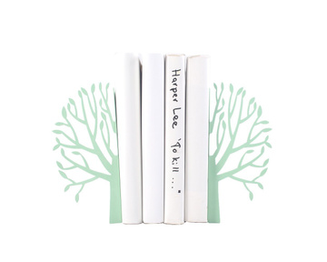 "Metal Bookends ""Spring"" by Atelier Article, Green"
