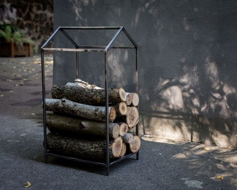 Firewood rack // Log holder // storage // Minimalistic Scandinavian design