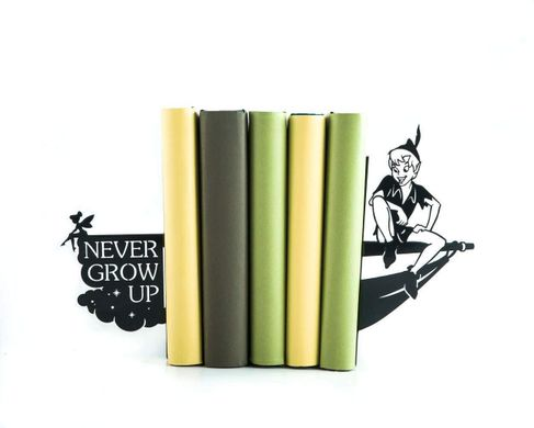 Metal Bookends Peter Pan // Tinker Bell // Never grow up by Atelier Article, Black