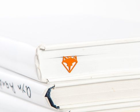 "Metal Bookmark ""Fox Head"" by Atelier Article, Peach"