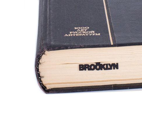 Metal bookmark Brooklyn Bridge by Atelier Article, Black