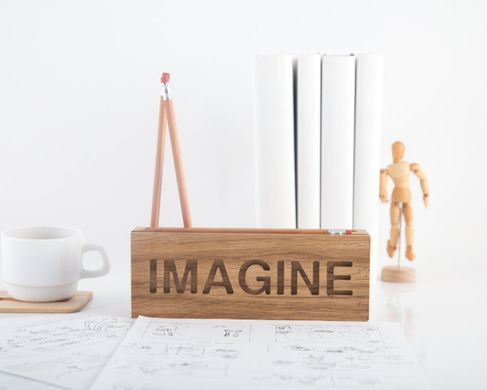 Desk organizer for pencils, brushes and pens IMAGINE by Atelier Article