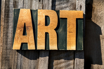 Wall art // Sign // ART // by Atelier Article, Assorted