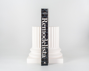 Architectural bookends White Columns by Atelier Article, White