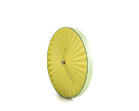 "Wall Clock ""Lemon Harmonica"" by Atelier Article"