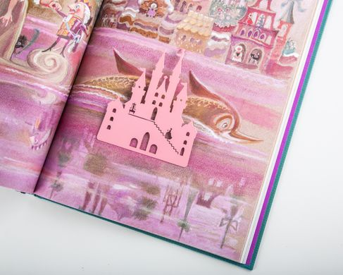 Metal bookmark / Pink Castle / by Atelier Article, Pink