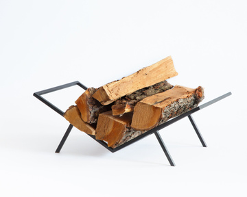 Compact Log Holder // Firewood stand for indoors or outdoors