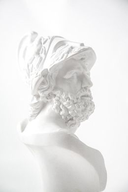 Pericles Bust Sculpture // Trendy ancient Greece statue for Modern Home // Loft and Man cave perfect