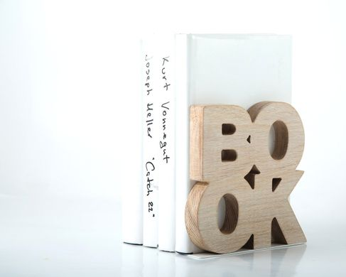 "One bookend ""Book"" Wooden edition // functional shelf decor by Atelier Article"