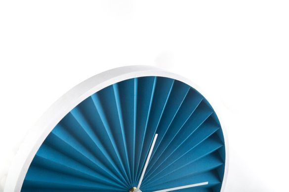 "Wall Clock ""Harmonica Blue Edition"" by Atelier Article"