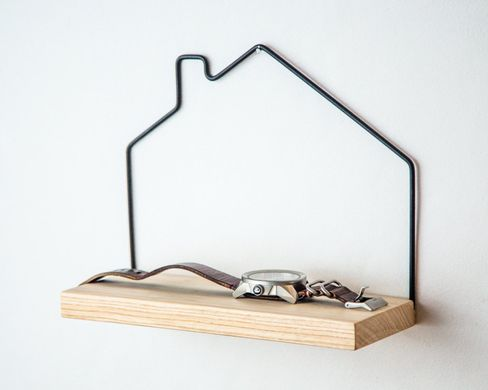 "Mini shelf ""House"" by Atelier Article, Assorted"
