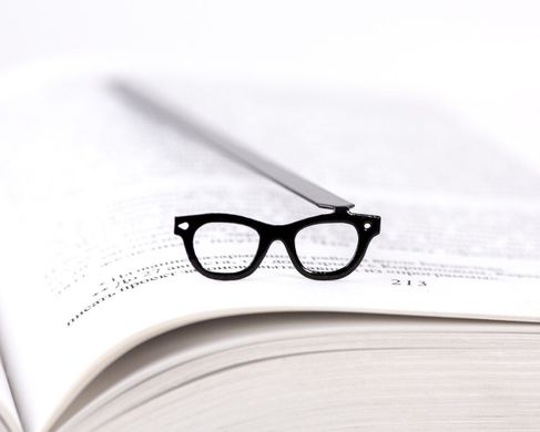 Metal bookmark Eye Glasses by Atelier Article