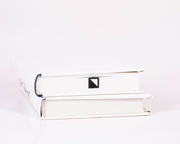 "Metal Bookmark ""Half square"" by Atelier Article, Black"