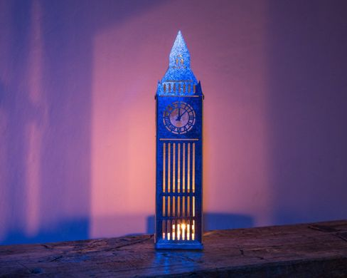 "Tin Lantern candle holder ""Big Ben: by Atelier Article"