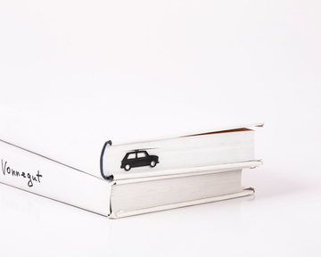 "Metal Bookmark ""MINI"" by Atelier Article, Black"