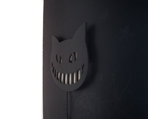 Cheshire Cat LED wall sign