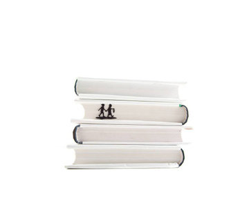 "Metal Bookmark ""Into Adventure"" by Atelier Article, Black"