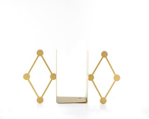 «Circus Diamond bookends» Golden edition by Atelier Article, Golden