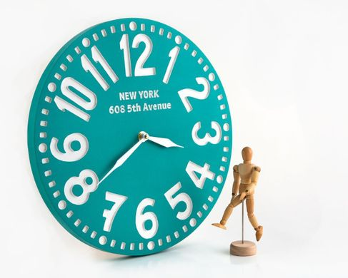 "Wall Clock ""New York""  by Atelier Article"