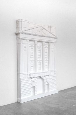 Buckingham Palace plaster // model facade // by Atelier Article, White