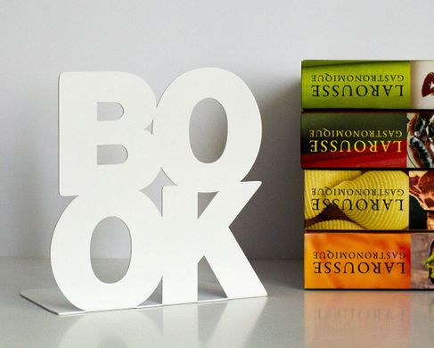 A Unique Bookend BookOne // minimalist functional decor for your modern home // housewarming gift for book lover