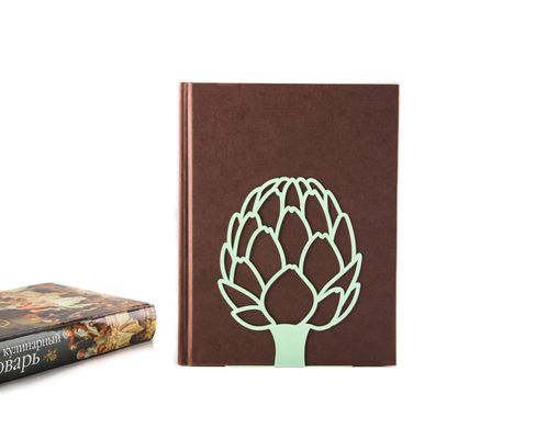 Metal Kitchen bookends «Artichoke» by Atelier Article, Mint