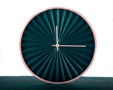 "Wall Clock ""Harmonica"" by Atelier Article"