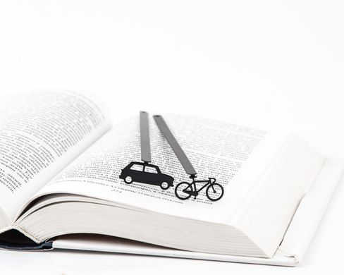 "Metal Bookmark ""Bicycle"" by Atelier Article"
