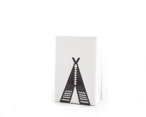A Unique metal bookend Tipi - Teepee Tent by Atelier Article