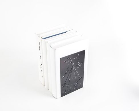 Metal bookend // Mathematics