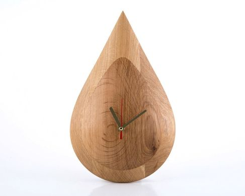 "Wall Clock ""Drop"" by Atelier Article"