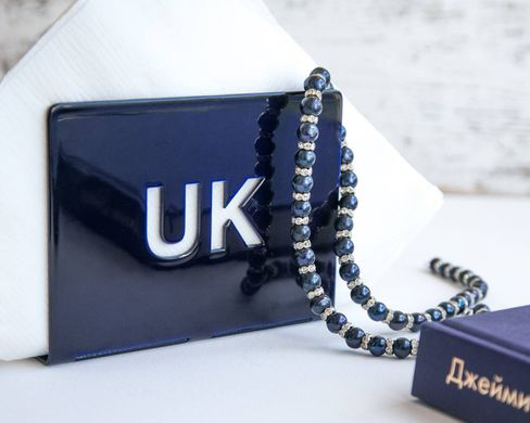 Napkin holder // UK // Deep blue // by Atelier Article, Navy