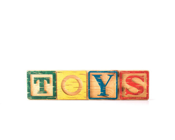 TOYS Sign // Children room decor // Modern nursery decor // Door sign // by Atelier Article, Assorted