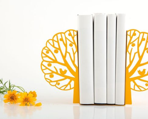 "Metal bookends ""Summer"" by Atelier Article, Yellow"