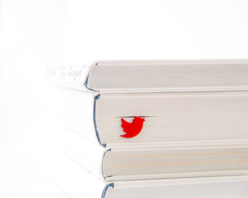 "Metal Bookmark ""Red Bird"" by Atelier Article, Red"