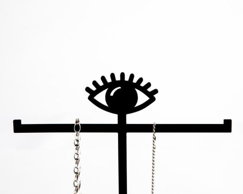 Jewelry Display with a tray // ring tree stand EYE // by Atelier Article, Assorted
