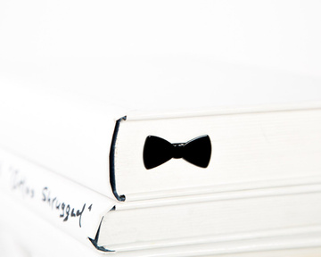 "Metal Bookmark ""Bow Tie"" by Atelier Article, Black"