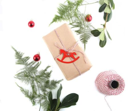 Minimalistic Traditional Christmas Ornaments a set of 6 // by Atelier Article, Assorted